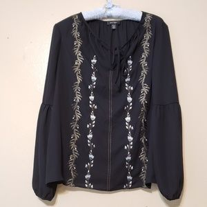 💥 Lord & Taylor long sleeve blouse